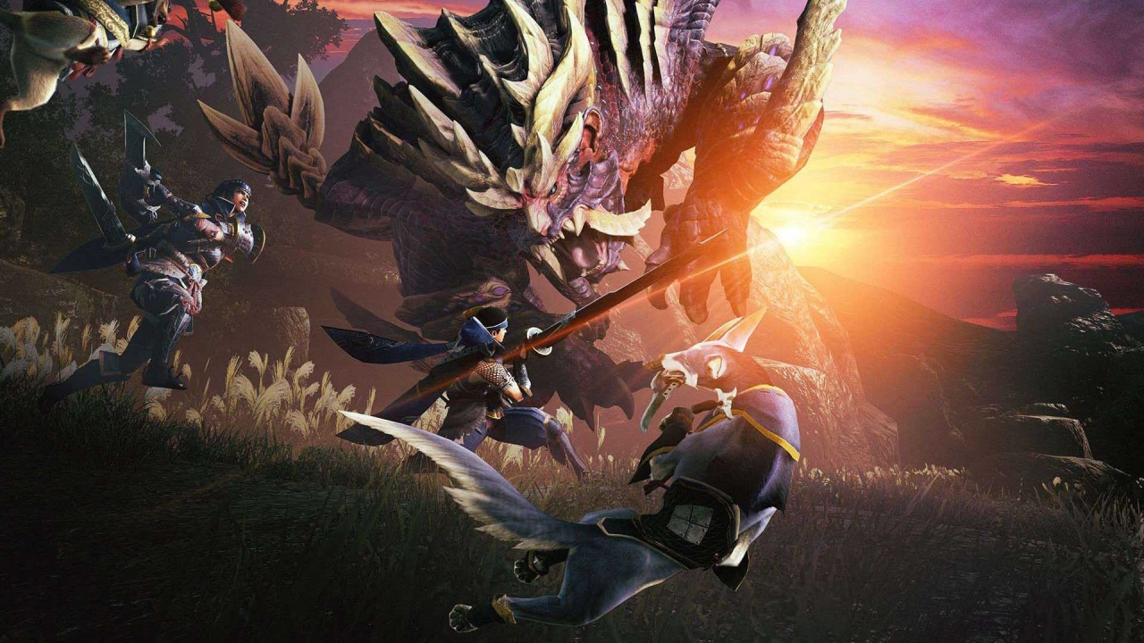 Capcom Releases New Trailer of Monster Hunter Rise During Its TCG 2020 Event 1
