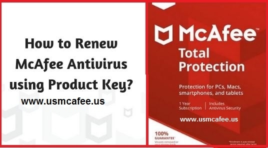 Renew your McAfee Subscription